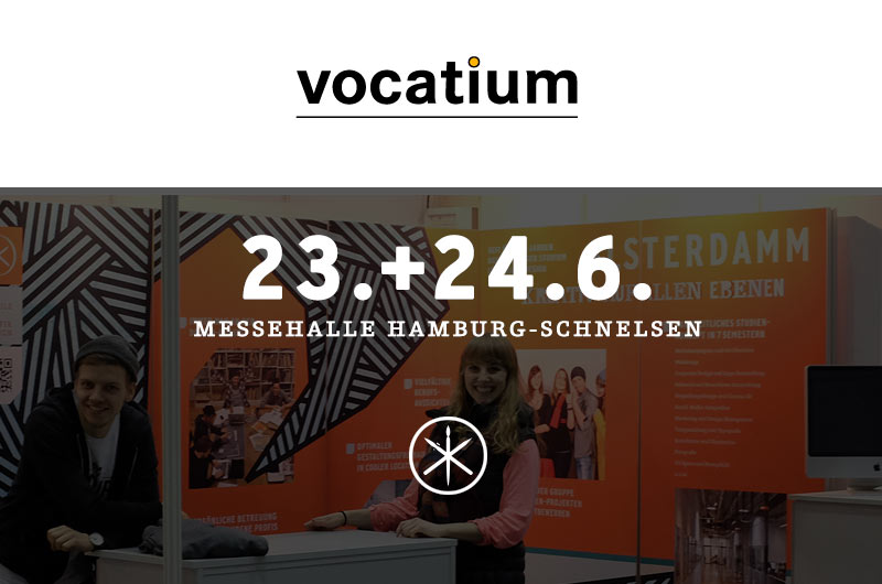 Alsterdamm vocatium-Messe Hamburg 2015