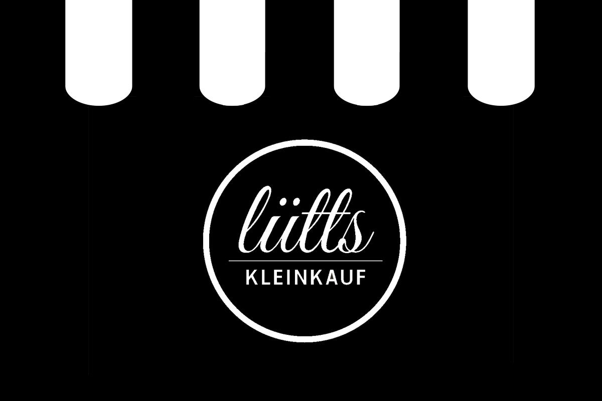 Logo des Abschlussprojektes »Lütts Kleinkauf« von Catarina Radtke