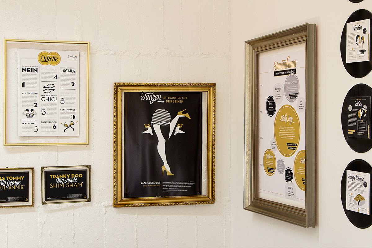 Abbildung von Plakaten der »Schwoofe«