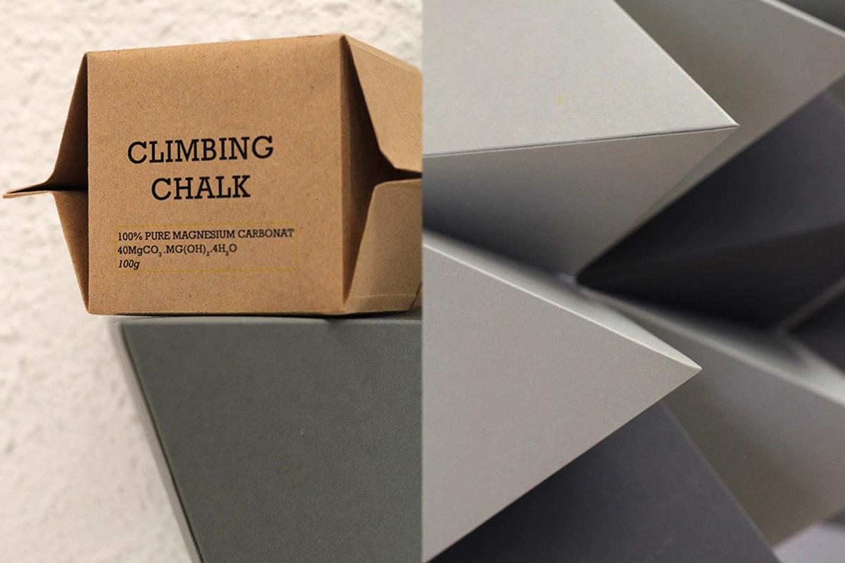 Verpackung für Bergsteigerprodukt