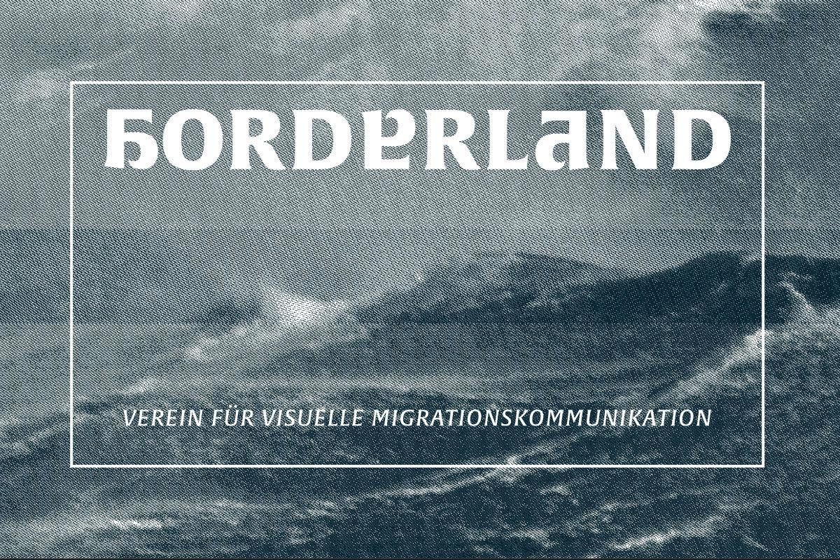 Logo des Abschlussprojektes »Borderland« von Johannes Piening